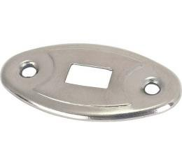 Dome Lamp Switch - Nickel Plate - Ford