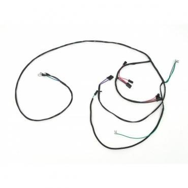 Chevy Truck Engine & Starter Wiring Harness, V8, For TrucksWith Automatic Transmission, 1957
