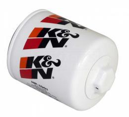 Firebird Oil Filter, K&N, Six Cylinder, 1977-2002
