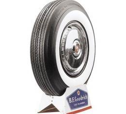 Tire - 710 X 15 - 3 Whitewall - Tubeless - BF Goodrich