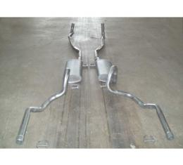 Chevelle - Dual Exhaust System, Big Block, Except Wagon, 1970-1972