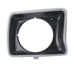 Headlight Door - Argent Silver - With Round Headlights - Right
