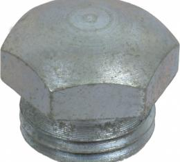 Model T Ford Universal Joint Housing Plug - Domed Early Style - Threads Into Torque Tube