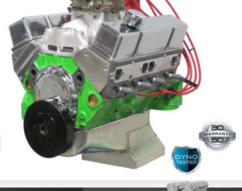 Nova 427 C.I. Blueprint Pro Series Crate Engine 540HP, Roller Cam, Aluminum Heads, 1962-1979