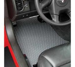 Lloyd Mats, Rubbertite Floor Mats, Clear| 154025114 Corvette 2007Late-2013