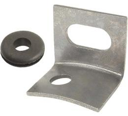 Model A Ford Cowl Light Wire Support - L-Shaped Brackets OnFirewall - With Grommet - 1930-31 Only