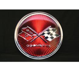 Corvette Metal Sign, 1975-1976