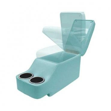 Ford Mustang Humphugger Console - Coupe & Fastback - Metallic Light Blue