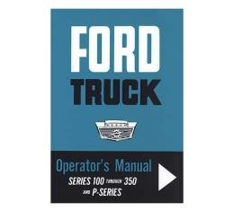 Ford Truck Operator's Manual - 40 Pages
