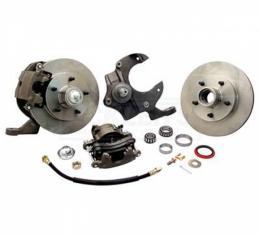 Nova Power Disc Brake Conversion Kit, Complete, Front, For Drum Brake Spindles, 1962-1967
