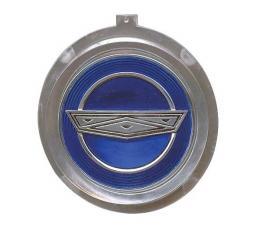 Ford Mustang Wheel Cover Spinner Center - Plastic - Blue
