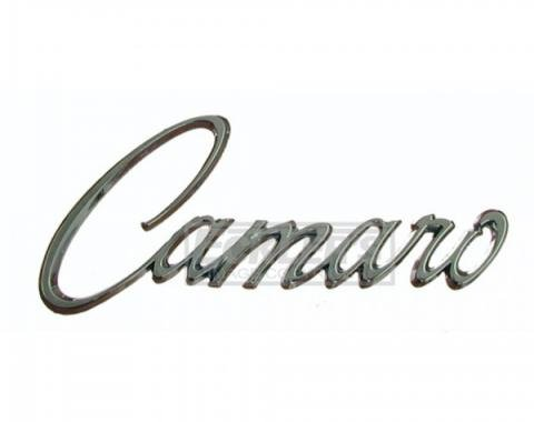 Camaro Fender Emblem, Stick On, Chrome