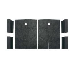 Radiator Splash Shield Pads - Mercury Only