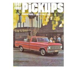 Ford Pickup Truck Sales Brochure - Foldout