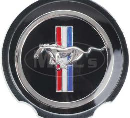 Daniel Carpenter Wheel Cover Center / Black W/ Pony D0ZZ-1130-E