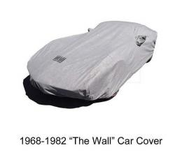 "Corvette Car Cover, ""The Wall"", Gray, 1953-2017 | 1968-1982"