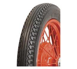 Model A Ford Tire - 4.75 X 19 - Blackwall - Lucas Brand