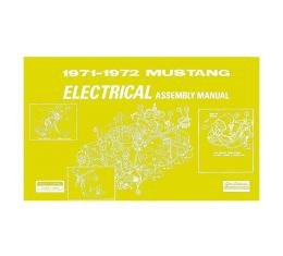 Ford Mustang Electrical Assembly Manual - 62 Pages