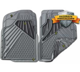 Chevy Or GMC Mid Size Truck Floor Mat Set, Two Piece 1982-2014