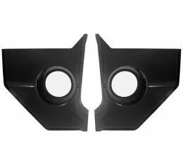 "Ken Harrison Combination Speaker and Kick Panel, 6.5"" Speaker, 65-66 Mustang Hardtop and Fastback"