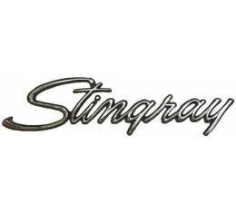 Corvette Metal Sign, Stingray, 1969-1976