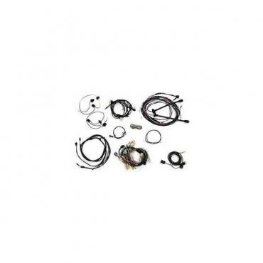 Chevy Wiring Harness Kit, V8, Automatic Transmission, With Generator, 150 2-Door Sedan, 1957