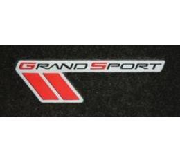Lloyd Mats, Cargo Mat With Grand Sport Logo, Ebony  V0172118-819245 Corvette Convertible Only 2010-2013