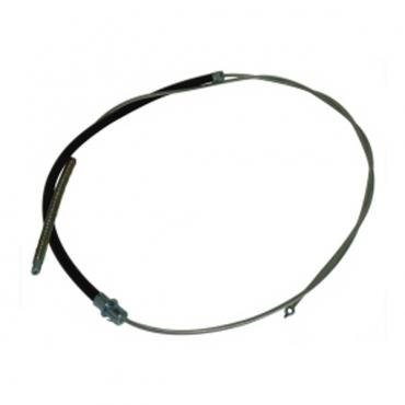 Chevy & GMC Truck Emergency Brake Cable, Rear, Short Bed, First Design Threaded End, 1963