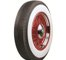 Tire - 710 X 15 - 3-1/4 Whitewall - Tubeless - Firestone