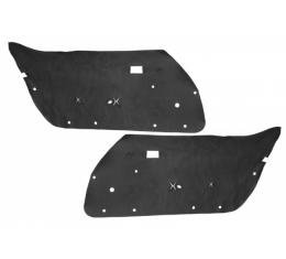 """Corvette Door Panel Insulators,""""Whisper Quiet"""", 1968-1982"""