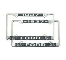 License Plate Frame - 1937 Ford