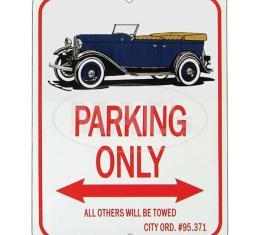 "Phaeton ""Parking Only"" Sign"