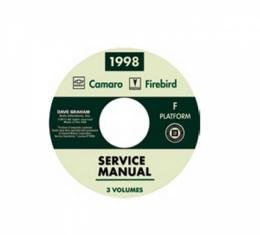 Shop Service Manual CD-ROM, 1998