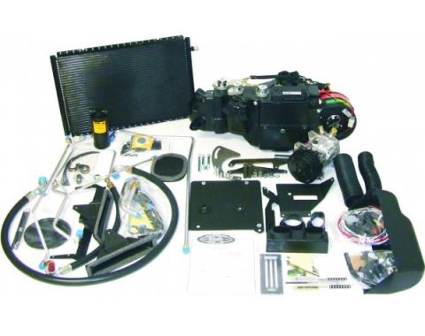 Classic Chevy - Air Conditioning Kit, LS Conversion, 4 Vents, 1957