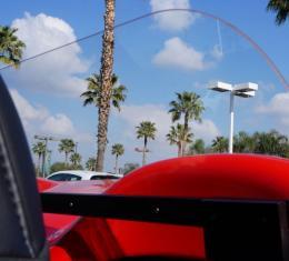 Corvette Convertible Wind Deflector, Frameless, VetteNet 2005-2013
