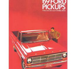 Sales Brochure, 1969 Truck F100/250/350, 12 pages
