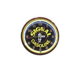 Neon Clock, Signal Gasoline,  20''
