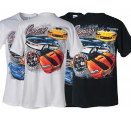 Camaro T-Shirt, Multi-Generational, Black