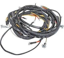 Cowl Dash Wiring Harness- Dash Ignition - Shell Style Horn - V8 - Mercury