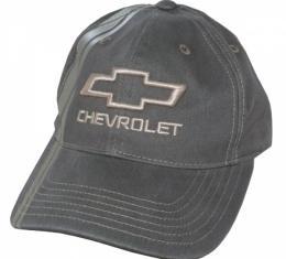 Chevy Bowtie Stripe Cap - Mocha