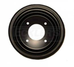 Firebird Crankshaft Pulley, Double Groove For Cars With Air Conditioning And Without Power Steering, Pontiac V8, 1968-1970
