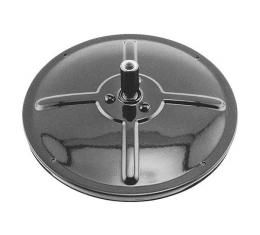 Model T Ford Outside Rear View Mirror Head - Right Or Left - Powder-coated - Black - 6 Diameter