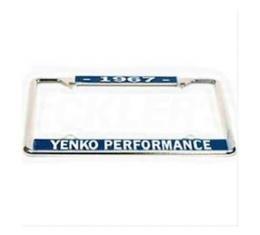Yenko Performace License Frame, 1967