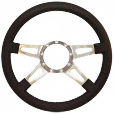 Firebird Steering Wheel, Volante S9, Black Leather, 1967-2002