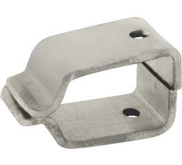 Model A Ford Electric Windshield Wiper Mounting Bracket Set- For Open Cars Only - Plain Steel