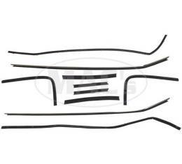 PUI 72 GALAXIE / LTD 2 DR HT 201286   Belt W/strip 8pc Kit/ Galaxie 500 & Ltd 2dr Hardtop