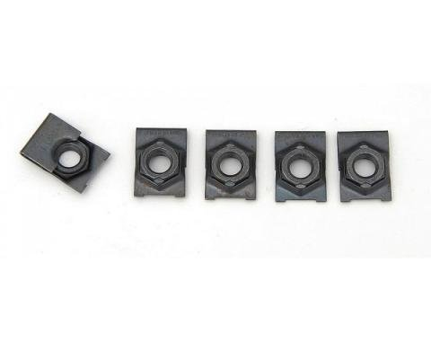 Full Size Chevy Cage Nut Set, 3 & 8, 1958-1964