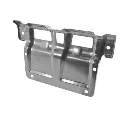 Ford Mustang Front License Plate Bracket - For Chrome Bumper