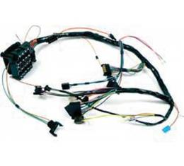 Firebird Dash Wiring Harness, With Gauges, 1970