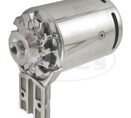 PowerGen Alternator - Ford Flathead - Polished Aluminum - 6Volt Positive